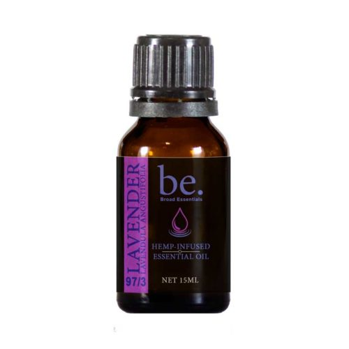 Lavender 450 Lavender CBD Essential Oil | 450mg | Broad Essentials